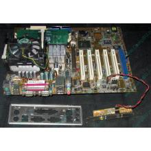 Материнская плата Asus P4PE (FireWire) с процессором Intel Pentium-4 2.4GHz s.478 и памятью 768Mb DDR1 Б/У (Шахты)