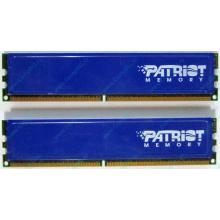 Память 1Gb (2x512Mb) DDR2 Patriot PSD251253381H pc4200 533MHz (Шахты)